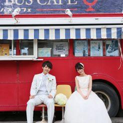 糸島 ロンドンバスカフェ